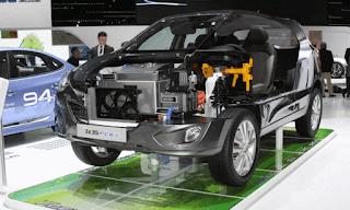 Uji Ketahanan Mesin Mobil Hydrogen Hyundai iX35
