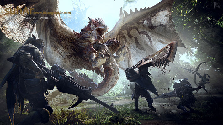 Download Monster Hunter World 56 DLCs Full Version, Monster Hunter World PC Game For Windows