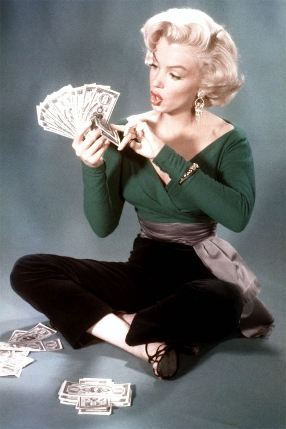 Monroe With Money