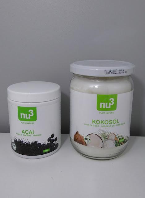 huile de coco, açaï, bio, nu3 box, bullelodie