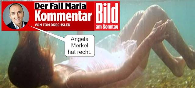 BILD am Sonntag relativiert Mord an Maria L.