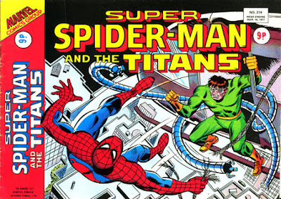 Super Spider-Man and the Titans #214, Dr Octopus