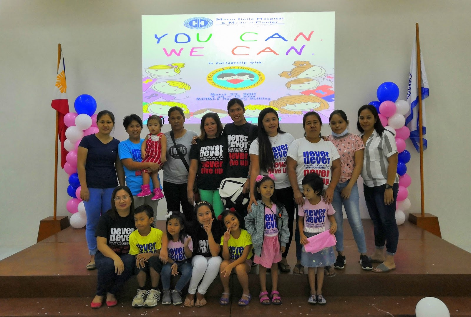 Friends of Cancer Kids Iloilo Foundation at Metro Iloilo Hospital and Medical Center