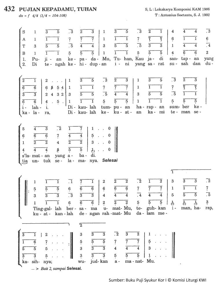selamanya kau tuhan chords