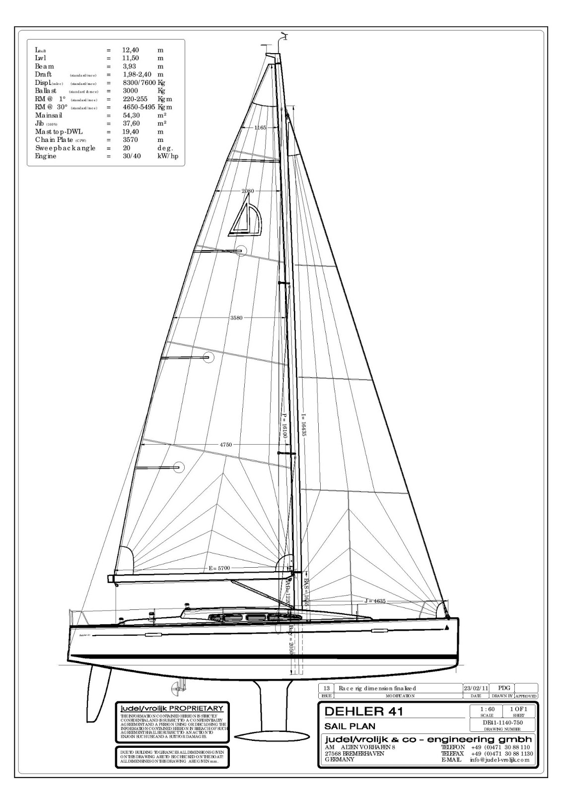 Cruising Boat Designs Dehler 41 Review