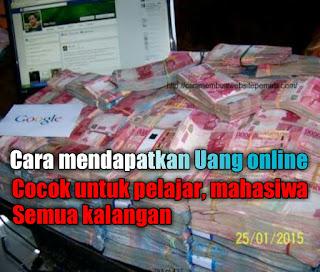Mendapatkan uang online