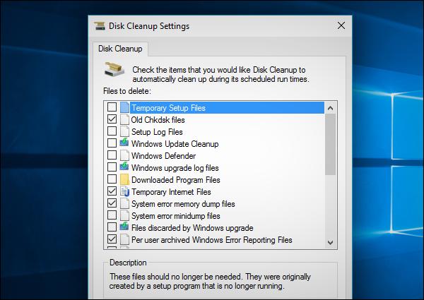 كيفية إظهار الخيارات المخفية  لتنظيف الويندوز Disk Cleanup
