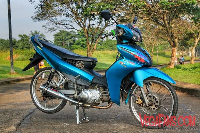 Jupiter Z New Biru Modif Simple
