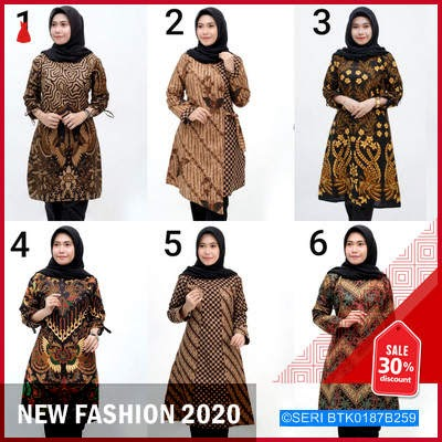 BTK0187B259 Batik Dianputri Dress BMGShop