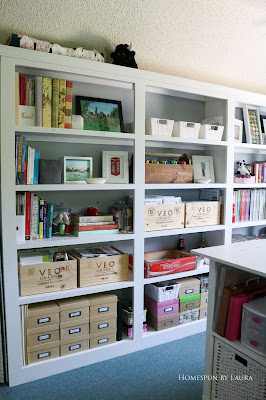 One Room Challenge Week 6 Home Office Sewing Craft Room Transformation