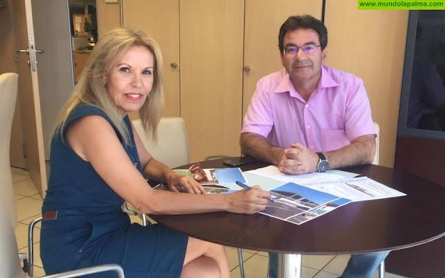 El Ayuntamiento de Puntallana solicita a la Dirección General de Infraestructura Educativa mejoras en  los colegios del Municipio