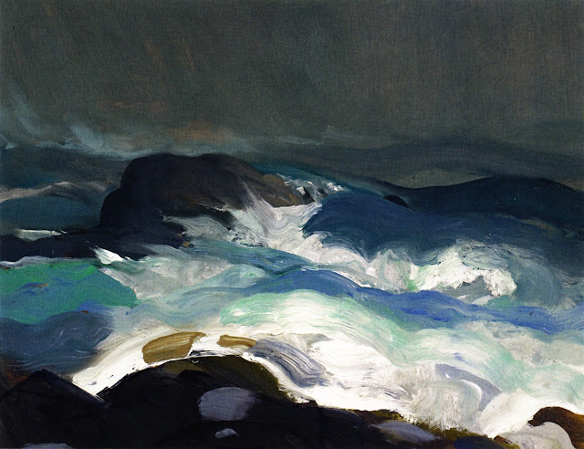 1913 Sea in Fog