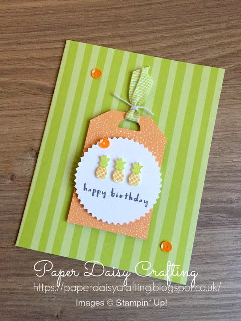 Stampin' Up! Fruit Basketby Paper Daisy Crafting