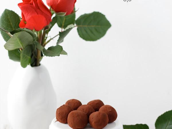 Tartufi al cioccolato e prugne