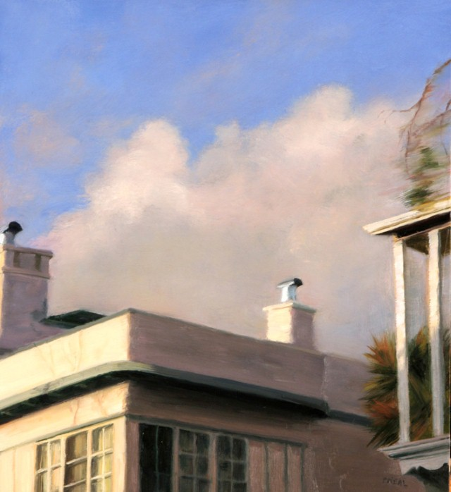 Городской пейзаж. Patty Neal 4