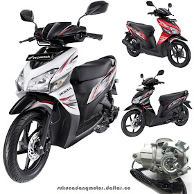 Daftar Harga Suku Cadang Honda Vario 110 Karbu (Generasi