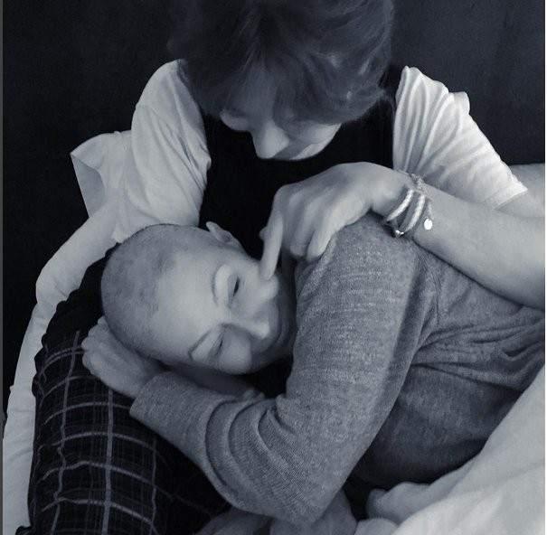 Shannen Doherty con su madre