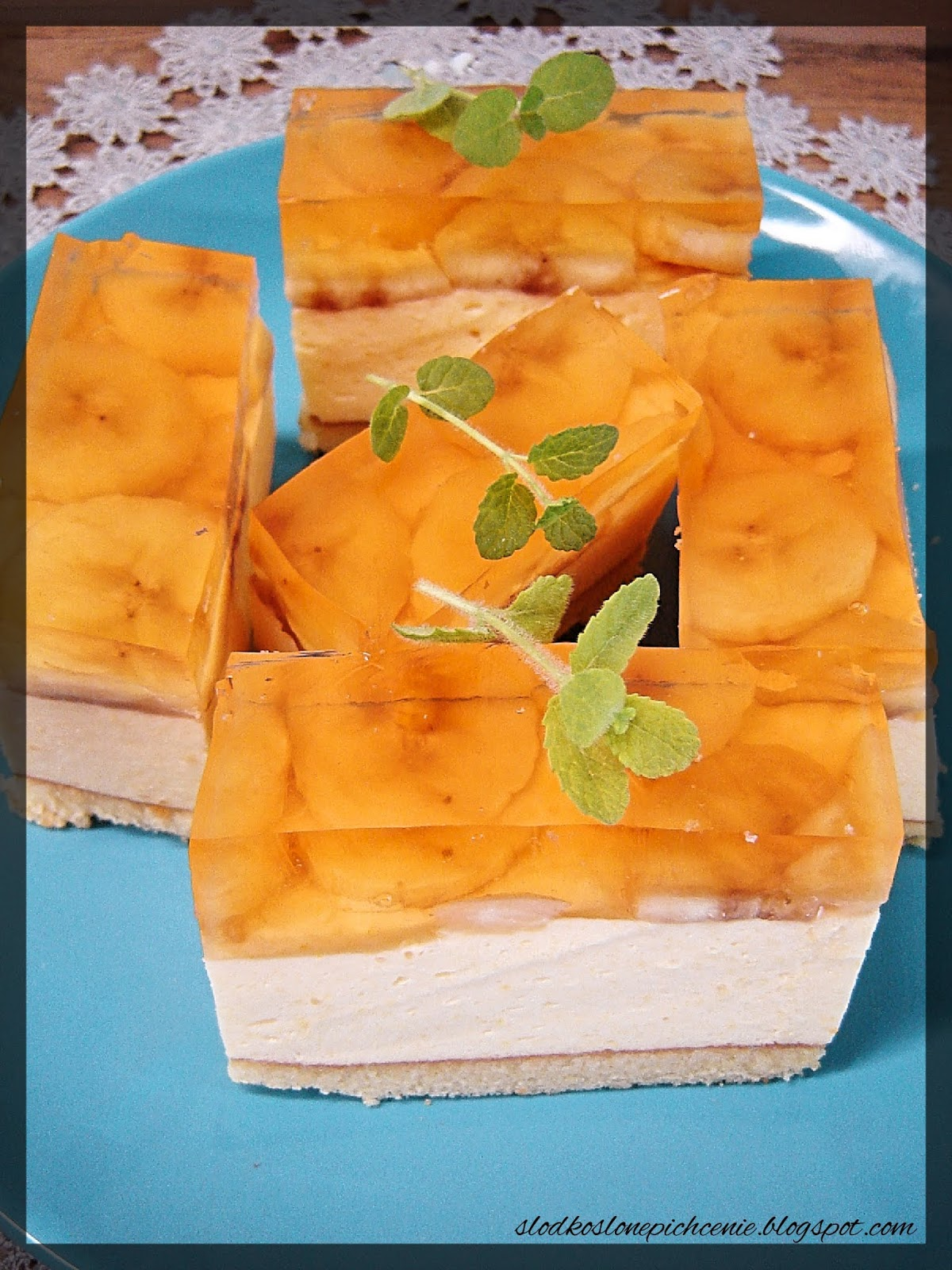 Ciasto brzoskwiniowo-bananowe
