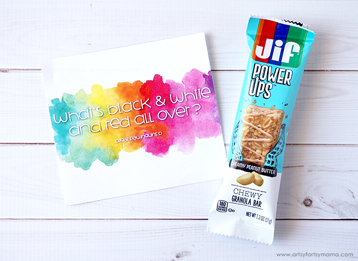 Free Printable Summer Joke Granola Bar Wrappers Are A Fun Solution To Lunchboxes And On