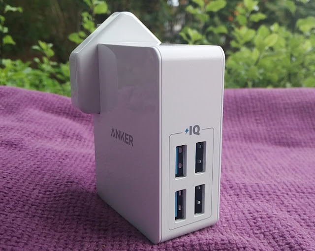 Anker Powerport Iv Calorie-Free Multi Device Fast Charging Plug