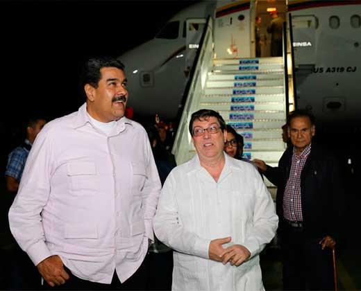 Maduro viaja a Cuba y deja encendidas las calles de Venezuela