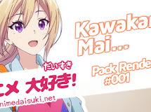 Anime Render Pack 1: Kawakami Mai