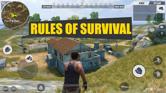 لعبة Rules of Survival علي هواتف الأندرويد