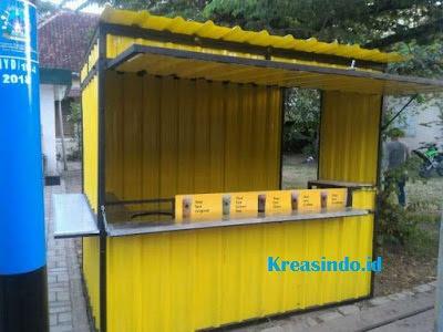 Jasa Booth semi Container melayani seluruh Jakarta dan sekitarnya