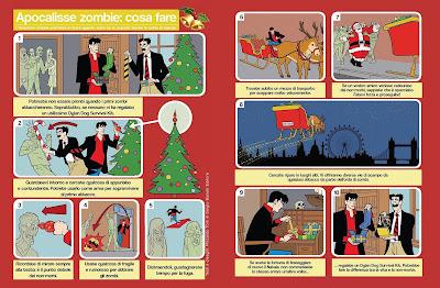 Dylan Dog Survival Kit - Gold Limited Edition - guida alla sopravvivenza nel periodo natalizio