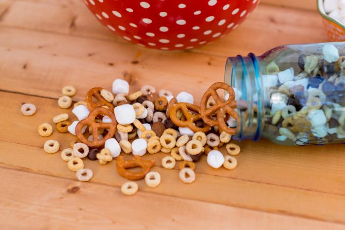 Gluten Free Trail Mix ingredients