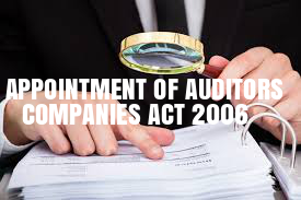Appointment-Auditors-Companies-Act-2006
