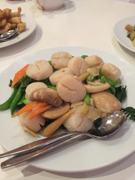scallops;  stir fry;  chopstick delight;  mulgrave