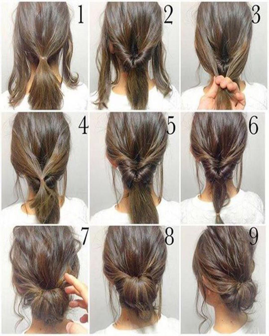 Easy winter hairstyles step by step original - Girlcheck