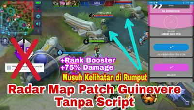 Download Apk Mod Radar Map Mobile Legends Patch Guinevere