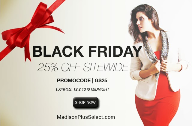 Madison Plus Select, Black Friday, Plus size clothing