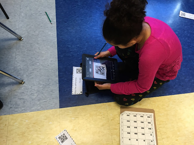 Want to have fun and practice double-digit subtraction at the same time? This is a great resource to incorporate math, QR code activities, and fun all into one. This can be used in a center, small group, or during station time. Check out how my kids are enjoying these fun and engaging task cards during small group work.