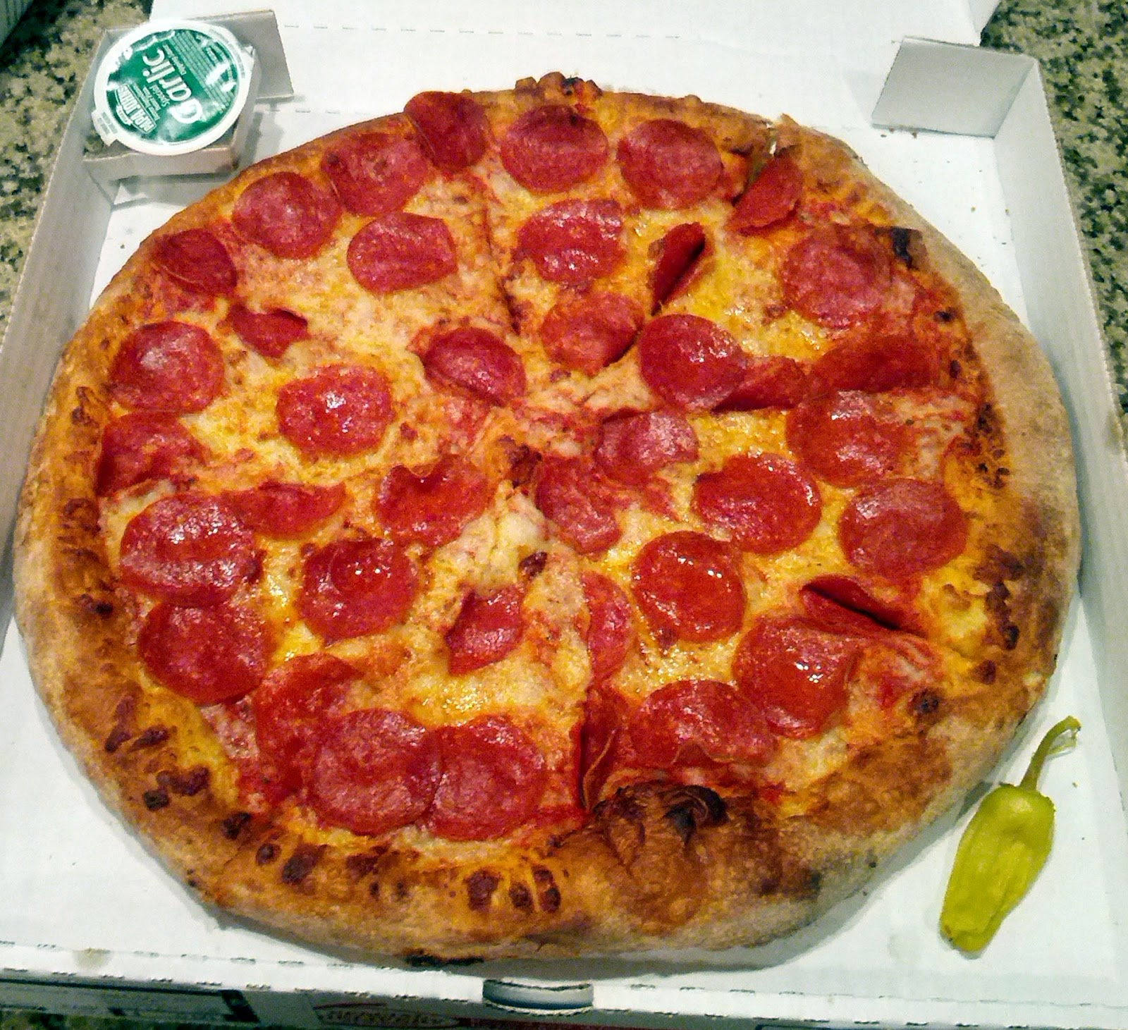 Pizza Quixote: Review: Papa John's Original Crust Pizza