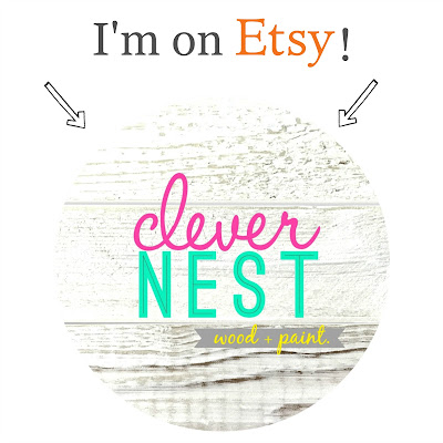 Clever Nest Shop on Etsy!