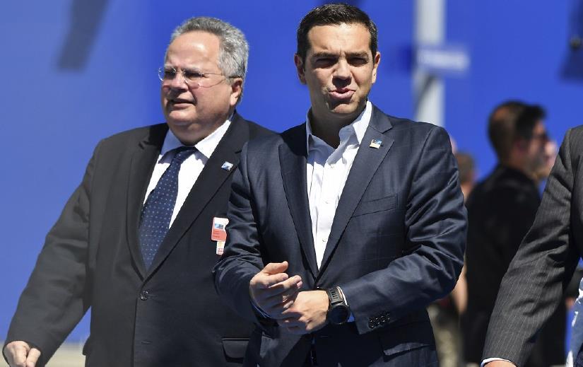 Ο πρωθυπουργός, Αλέξης Τσίπρας αναλαμβάνει το Υπουργείο Εξωτερικών