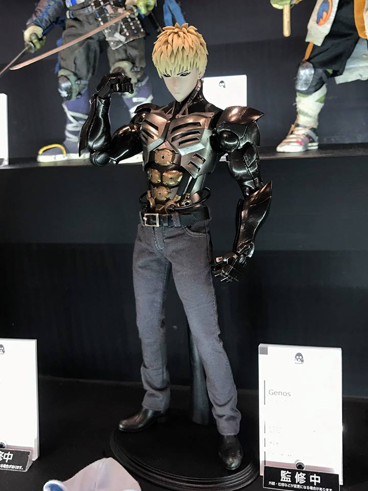 ab0eb702704 One Punch Man s GENOS in 1 6 by threezero Revealed   Wonder Festival 2017   Winter