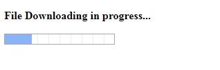 file downloading in progress.