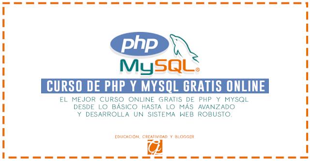 Curso Online Gratis De PHP y MySQL