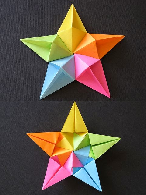 How To Make An Origami Diamond Star