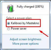 mengatasi baterai laptop cepat habis dan drop 6