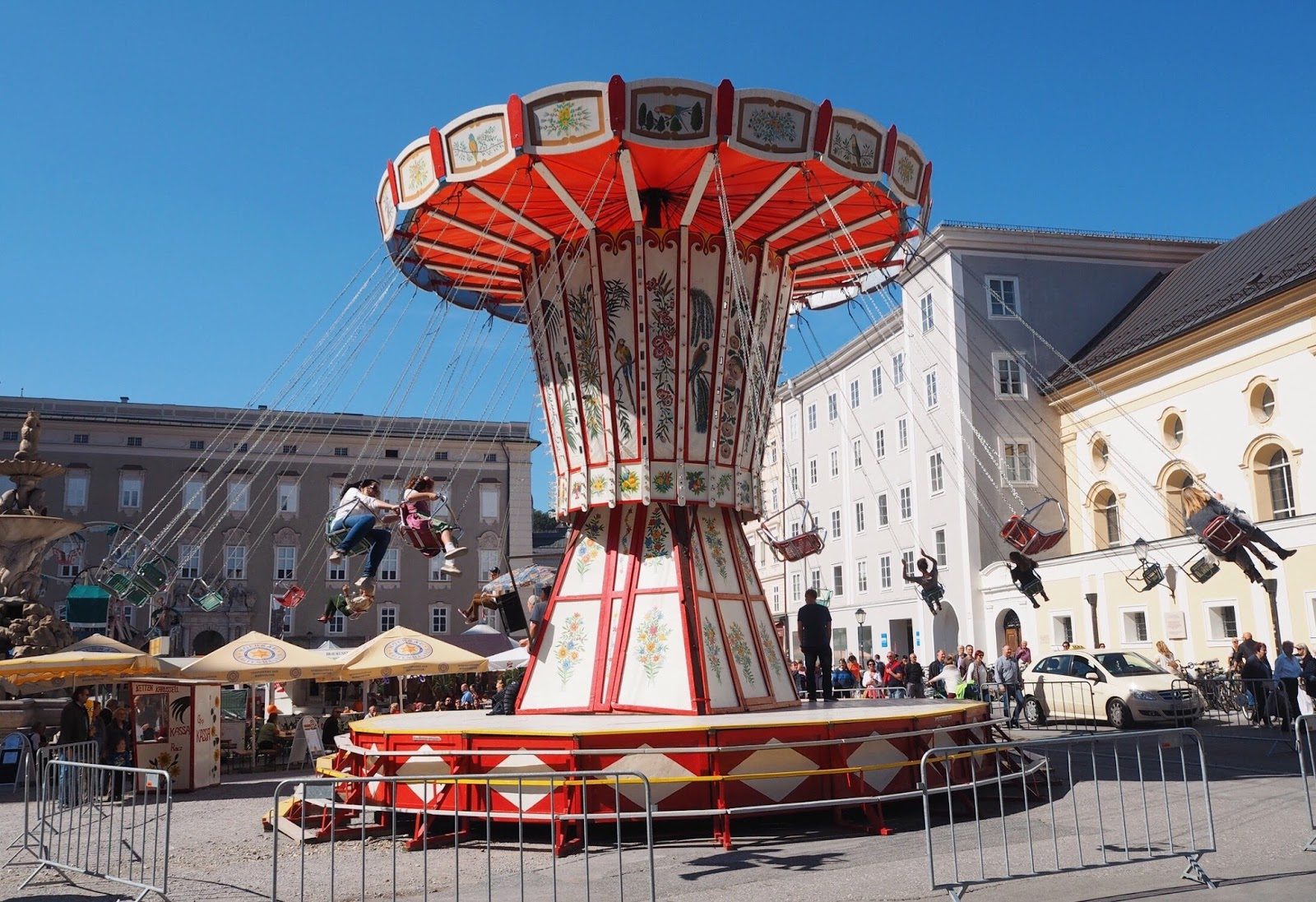 Fun fair in Salzburg