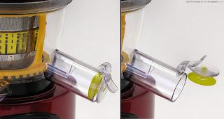Klarstein Fruitpresso 2G SlowJuicer 150W, rubinetto
