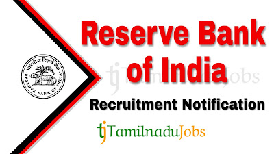 RBI Recruitment notification 2019, govt jobs for civil engineers, govt jobs for electrical engineers