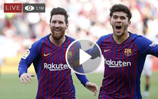 لايف الأن مشاهدة مباراة برشلونة وايبار بث مباشر بتاريخ اليوم 19-5-2019 الدوري الاسباني بدون تقطيع