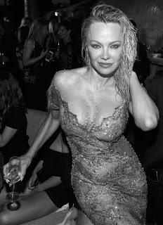 Pamela Anderson in Spain