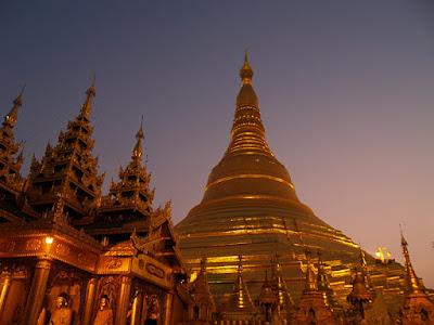 Yangon. Shwedagon Pagoda